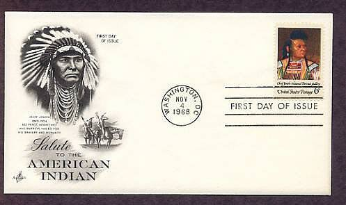 Native American Indian Chief Joseph, Nez Perce, First Issue USA