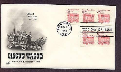 Circus Wagon,  Horse Drawn Steam Calliope, First Issue USA