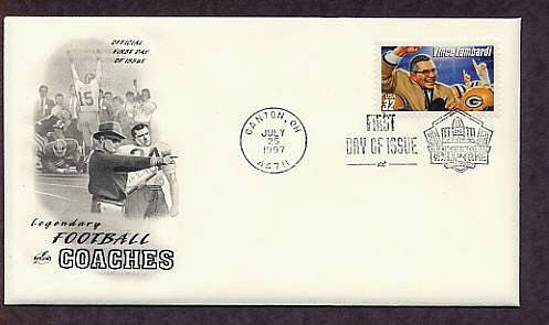 Vince Lombardi, Football Coach Green Bay Packers, First Issue USA
