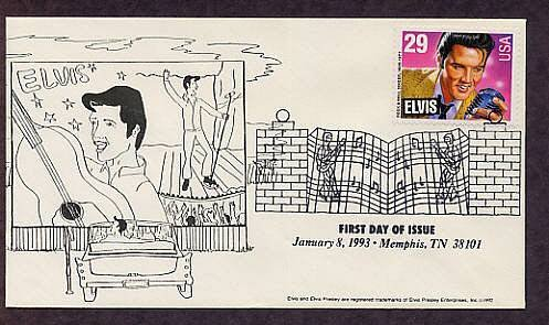 Elvis Presley, First Issue, Drive In Movie, Memphis, Tennessee, USA