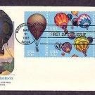 Hot Air Balloons, Ballooning, Civil War Intrepid, Explorer II, First Issue USA