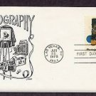 Photography, Vintage Cameras, Film, Nova First Issue FDC USA