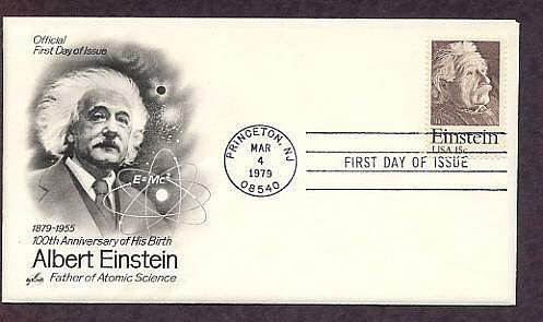 Albert Einstein, Physics Nobel Prize Winner, Relativity Science, 1979 First Issue USA