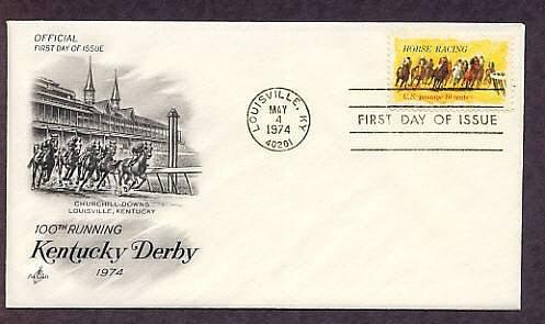 Horse Racing Kentucky Derby 100th Running, Churchill Downs First Issue USA