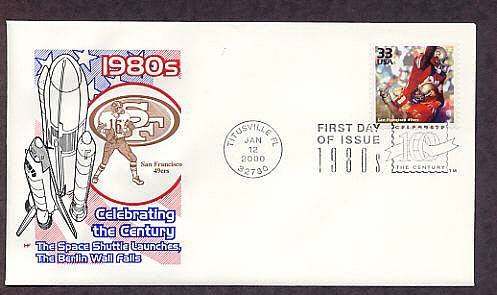 Honoring San Francisco 49ers Football Team, CTC First Issue USA