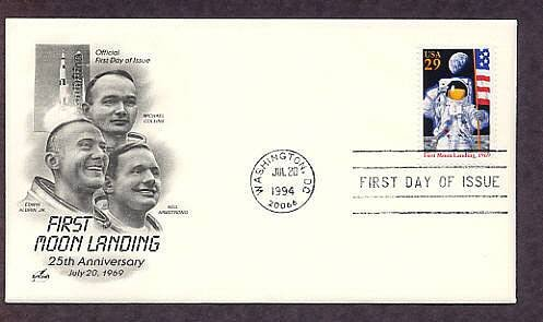 First Moon Landing, NASA Apollo 11, Space Astronauts, First Issue USA