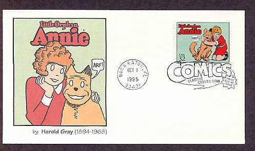 Little Orphan Annie with Dog Sandy, Classic Comics, First Issue USA