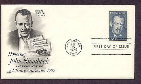 Honoring American Novelist John Steinbeck, First Issue USA