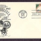 West Virginia Statehood, 100th Anniversary, First Issue Fleetwood FDC USA