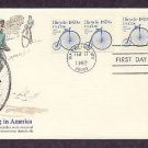 Bicycle 1870s, Bicycling in America, First Issue USA