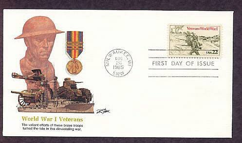 Honoring Veterans World War I, Military, First Issue USA