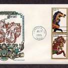 Carousel Horses, Golden Age, Folk Art, Merry Go Round, HF, First Issue USA