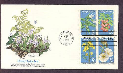 Endangered Flora, Persistent Trillium, Hawaiian Wild Broadbean, Wallflower, Evening Primrose,
