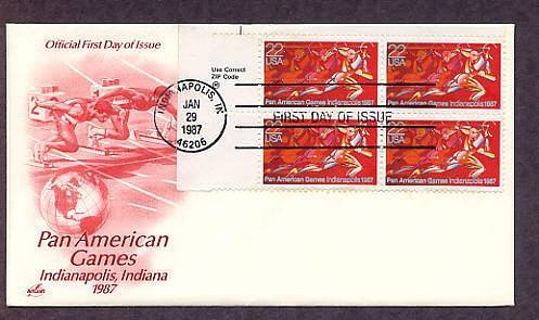 Pan American Games, Runners, Indianapolis, Indiana, First Issue USA