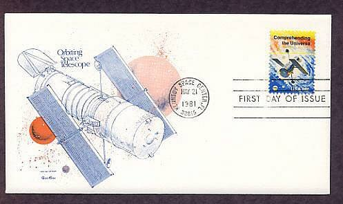 NASA Hubble Telescope, Kennedy Space Center, First Issue USA