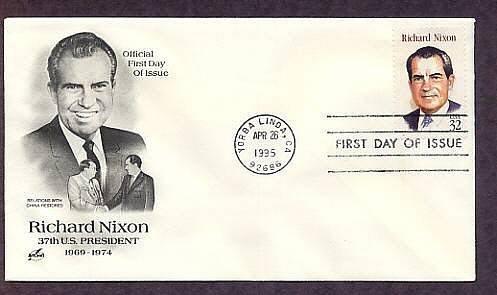 Richard Nixon, 37th U.S. President First Issue USA