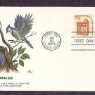 Blue Jay, Wildlife that Shares the Border Between Canada and the USA, First Issue