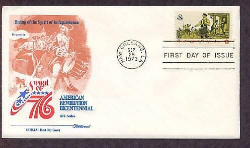 American Revolution Bicentennial, Drummer Summoning Minutemen First Issue