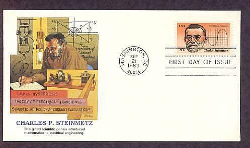 Charles Steinmetz, Genius American Inventor, First Issue USA