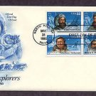 Polar Explorers, Kane, Greely, Stefansson, Peary, Henson First Issue USA
