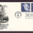 In Memory of Eleanor Roosevelt, Centennial of her Birth First Issue USA