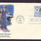 Winter Special Olympics International Sports, First Issue USA