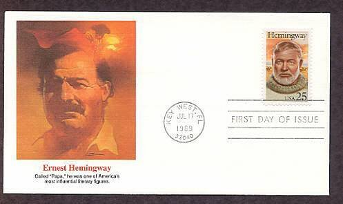 Honoring Writer Ernest Hemingway, Key West, Florida, First Issue USA