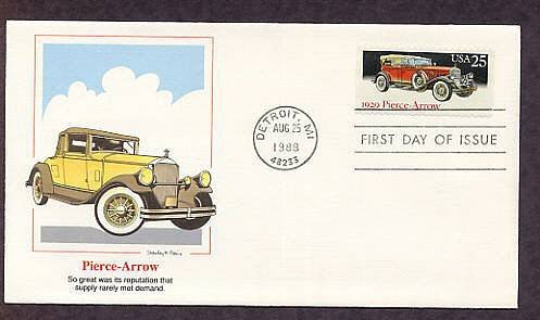 1929 Pierce - Arrow, First Issue Detroit, Michigan  USA