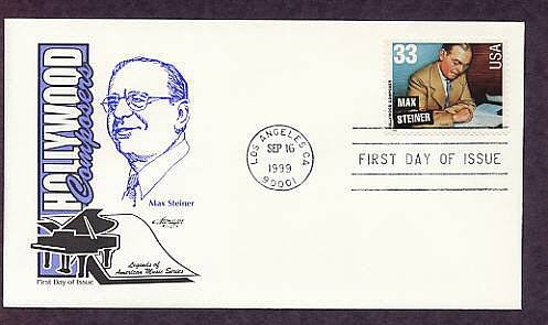 Honoring Hollywood Composer Max Steiner, First Issue USA