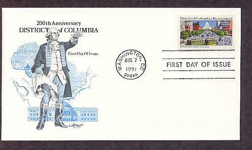 District of Columbia, Bicentennial First Issue USA