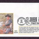 Honoring John Wayne, Rooster Cogburn Western, First Issue FDC USA