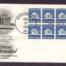 President Thomas Jefferson Memorial Washigton, DC First Issue USA