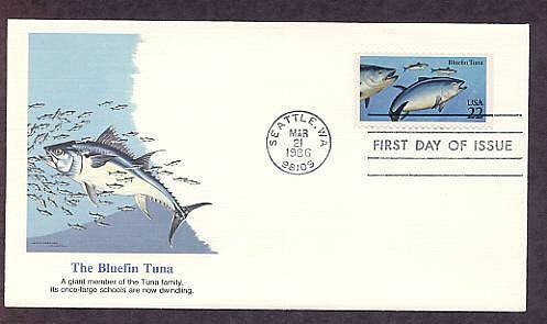 Bluefin Tuna Fish First Issue USA