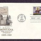 Centennial Montana Statehood, Western Artist Charles M. Russell and his Friends, AM First Issue USA