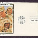 Honoring Those Who Served Desert Shield, Operation Desert Storm First Issue USA