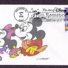 Walt Disney Art, Mickey Mouse, Minnie, First Issue FDC USA