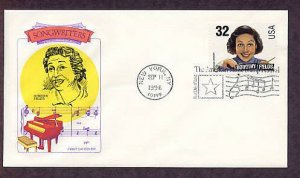 Honoring American Songwriter Dorothy Fields First Issue USA