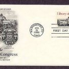 Library of Congress, Washington, D.C. 1982 First Issue USA