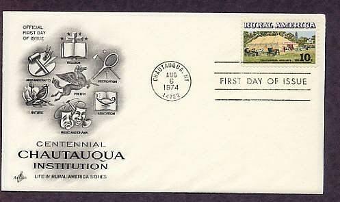 Rural America, Centennial Chautauqua Institution, First Issue USA