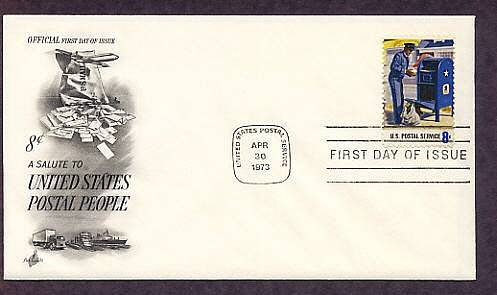 U.S. Mail Letter Carrier, USPS Mail Box, First Issue USA