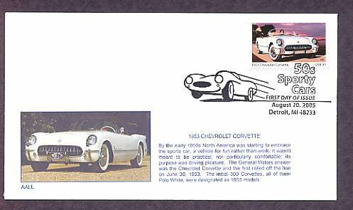 1953 Chevrolet Corvette, Detroit, Michigan, First Issue USA