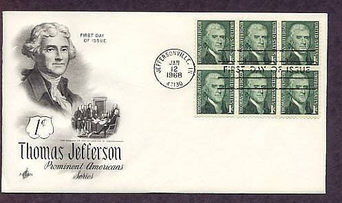 President Thomas Jefferson First Issue USA