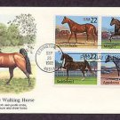 Quarter Horse, Morgan, Saddlebred, Appaloosa, Tennessee Walking Horse, First Issue USA