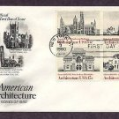 Architecture, Smithsonian, Trinity Church, Pennsylvania  Academy, Lyndhurst Castle First Issue USA
