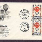100th Anniversary of the First Official Air Mail, Balloon Jupiter First Issue USA