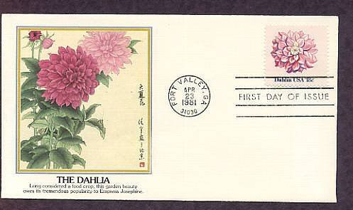 Dahlias, Grown by Enthusiasts Worldwide, First Issue USA
