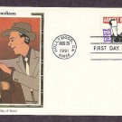 Abbott and Costello, Al Hirschfield, Silk 1991 First Issue FDC USA