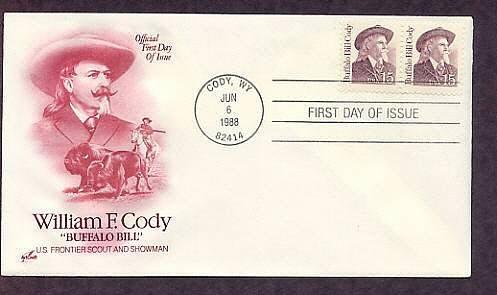 Buffalo Bill Cody, Hunter, Scout, Showman, Legend, Annie Oakley, AC First Issue USA