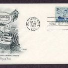 Soo Locks Centennial, Sainte Marie, Lake Steamer, Michigan, 1955 First Issue USA