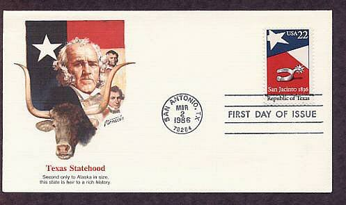 Republic of Texas, Silver Spur, Alamo, Longhorn Cattle, San Antonio, First Issue USA